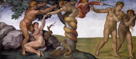 The Fall Of Man by Michelangelo.