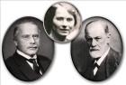 Jung, Spielrein, Freud.