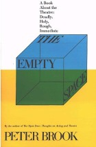 The Empty Space (Book Cover), Peter Brook