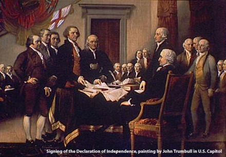 U.S. Declaration of Independence John Trumbull.
