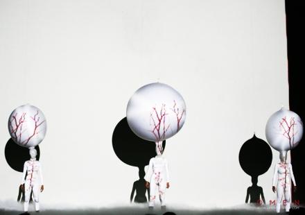 """Image of a scene from """"Omen"""" (2012) by Natasha Tsakos"""