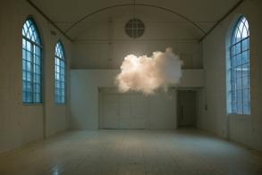Nimbus II (2012) Cloud In Room by Berndnaut Smilde