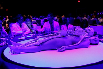 Skeleton Display MOCA Gala 2011