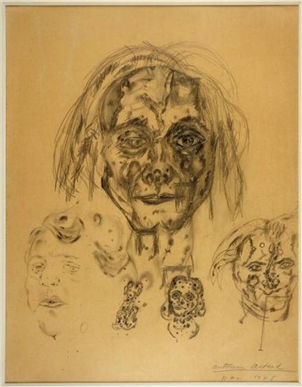 Autoportrait 11 mai 1946 by Antonin Artaud