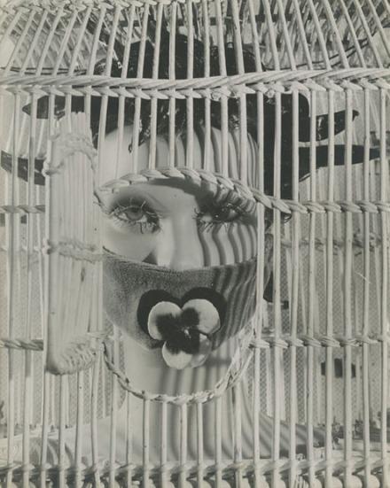 Tete du Mannequin d'Andre Masson (1937) Raoul Ubac. *4